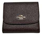 Coach Crossgrain Glitter Small Wallet Oxblood 1 15622