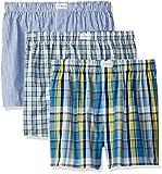 Tommy Hilfiger Men's 3 Pack Cotton Classics Woven Boxers