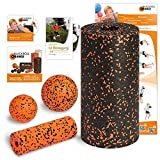 Blackroll Orange (the original) - THE self-massage roller - Vital set, standard plus (incl. training DVD, booklet and exercise poster) by blackroll-orange / Dr. Paul Koch GmbH
