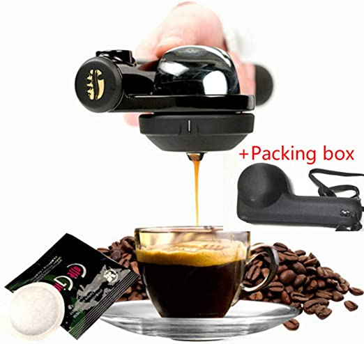 SYSWJ Cafetera Portable Coffee Machine Mini Espresso Coffee Maker ...