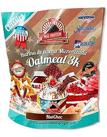 Max Protein Harina de Avena sabor NutChoc (Nutella) - 3 kg