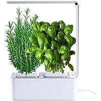 amzWOW Smart Garden Huerto de Interior 100% Eco, para Cultivar Plantas aromaticas Semillas Bio, Plantas Naturales…