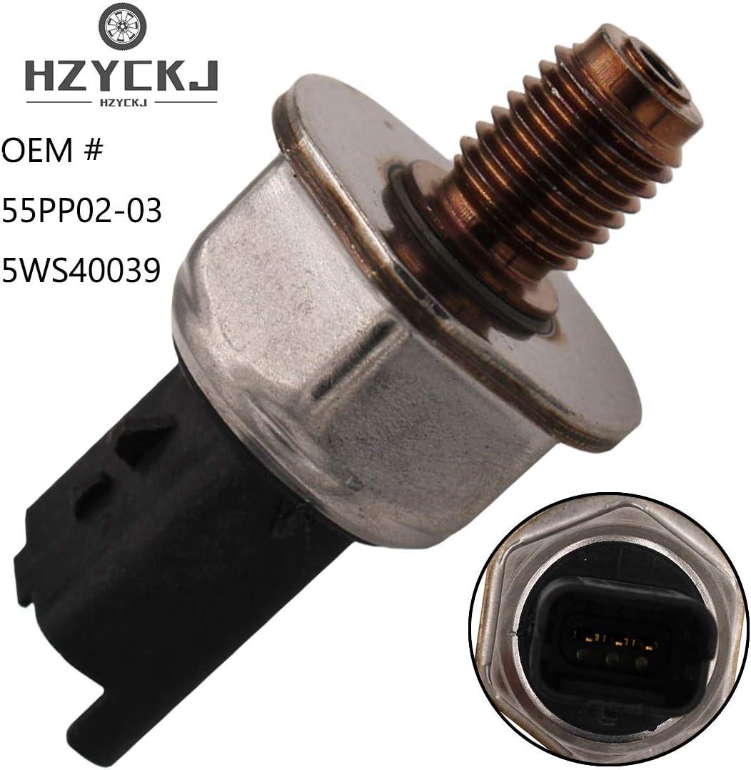 Fuel Common Rail High Pressure Sensor for 9307Z511A KIMISS Car Fuel Pressure Sensor