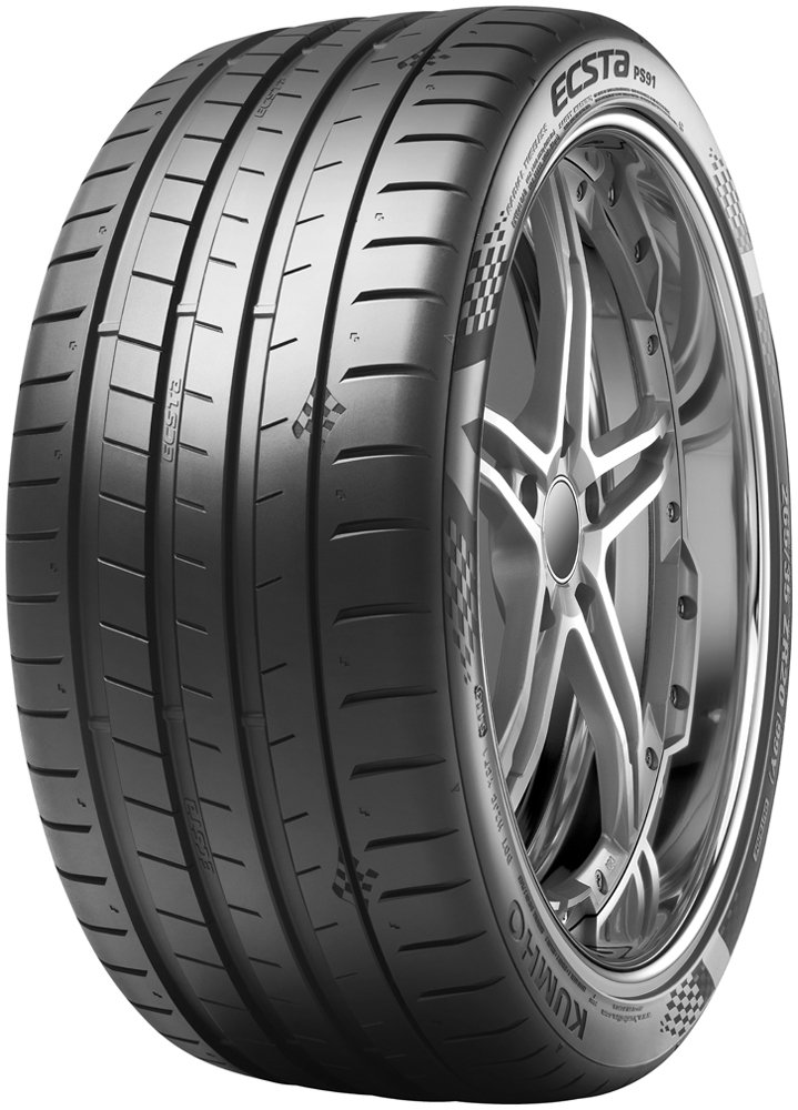 Kumho Ecsta PS91 Performance Radial Tire-245//45ZR20 103 Y Extra Load-ply
