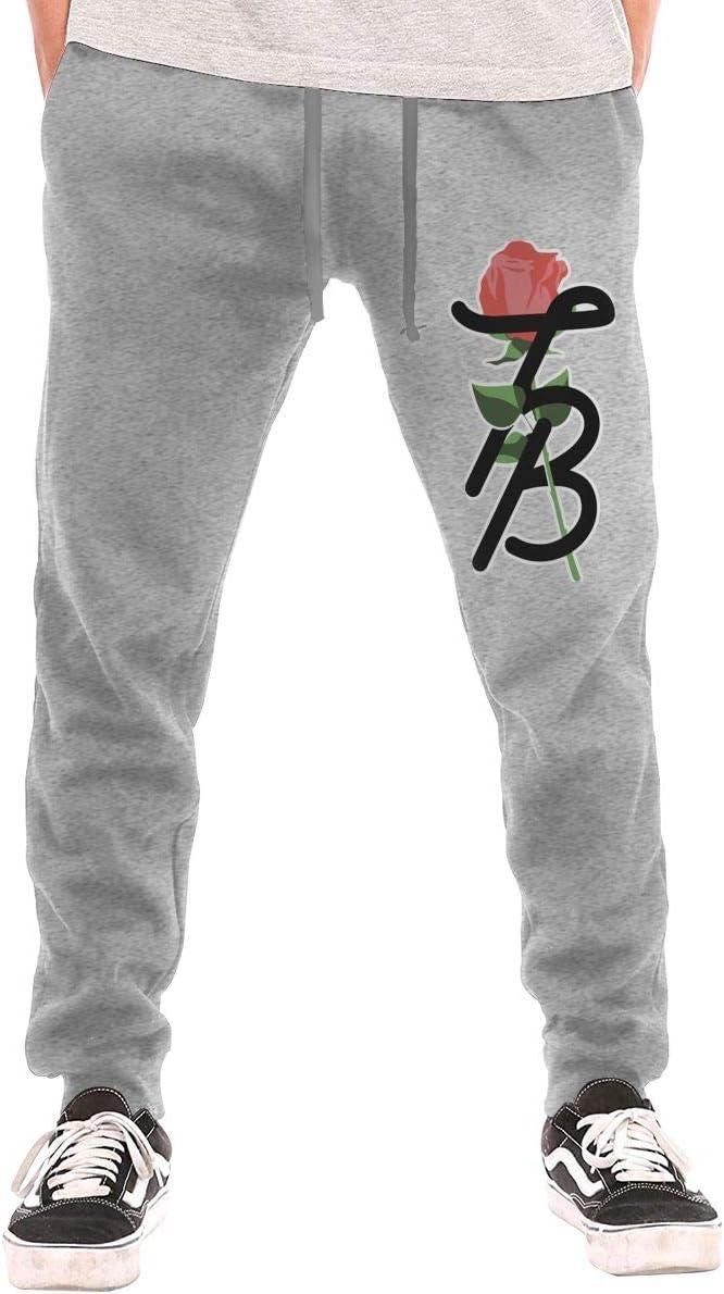 Mens Logan Paul Maverick Sun Conure Logo Casual Jogger Sweatpants Jogger Pants with Pockets