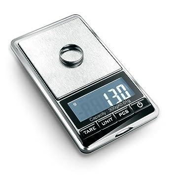 flexzion joyería Escala Digital Mini Diamond oro moneda objetos pequeños peso gramo peso herramienta de bolsillo pantalla LCD 300 g x 0,01 G precisión ...