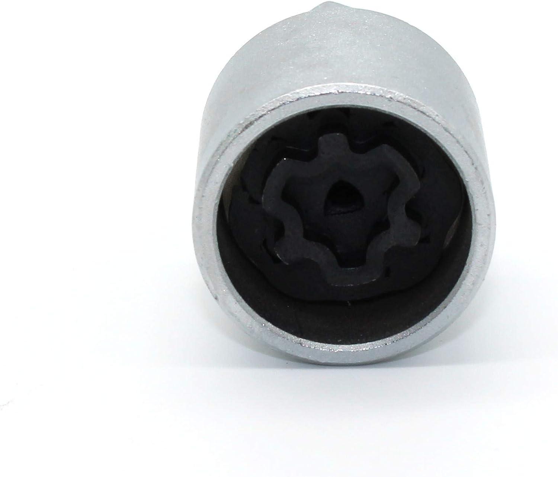 TEMO #806 Anti-Theft Wheel Lug Nut Removal Socket Key 3436 for Audi