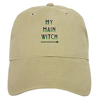 CafePress - Halloween My Main Witch - Baseball Cap with Adjustable Closure a0c55f99a2a