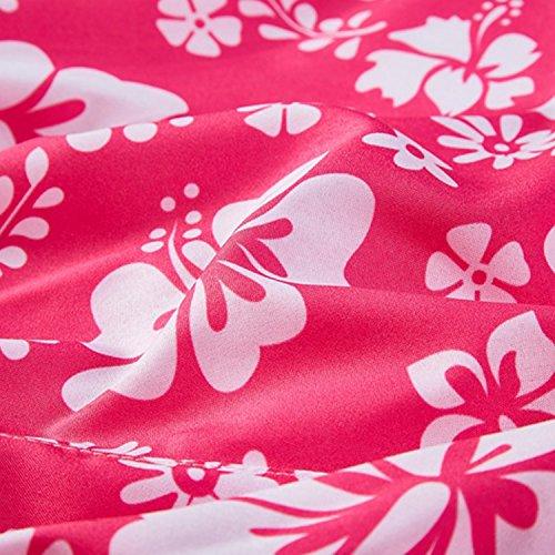 Floral Short Fleur Lisli Silm Plage Coton Fitness lastique Mode t Poudre Dentelle Casuel Femme Impression Pants Fille Hq55Rw