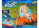 Inflatable Water Slide Triple Pool Kids Park Backyard Play Fun Outdoor Splash