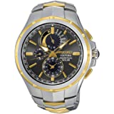 Men's Seiko Coutura Solar Chronograph Two-Tone Stainless Steel Watch