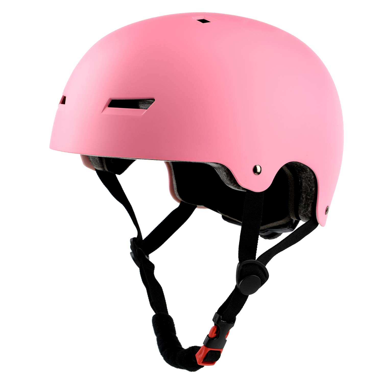 Ouwoer Kids/Adult Skateboard & Bike Helmet, CPSC Certified, Adjustable and Multi-Sport, from Toddler to Adult (Pink) by Ouwoer