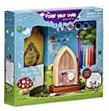 Paint Your Own Fairy Door - St Patricks Day Special Offer!! Includes Magic Key in a Bottle, 3 Stepping Stones, Fairy Lease Agreement, Notepad, and Fairy Welcome Guide