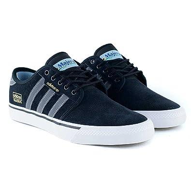low priced c3382 692fe adidas Seeley OG ADV, Zapatillas de Skateboarding para Hombre, Negro  (Negbas Grpudg Ftwbla), 49 1 3 EU  Amazon.es  Zapatos y complementos