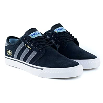 adidas Seeley, Chaussures de Skateboard Homme, Noir (Core Black/Core Black/Core Black 0), 40 2/3 EU