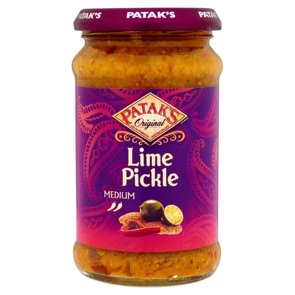 Patak's Lime Pickle Medium (283g) - Pack of 2