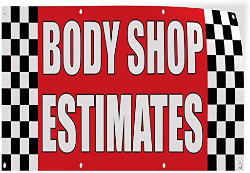Decal Sticker Multiple Sizes Parking Auto Body Shop Car Repair Business Parking Space Outdoor Store Sign Red 52inx34in Set of 2