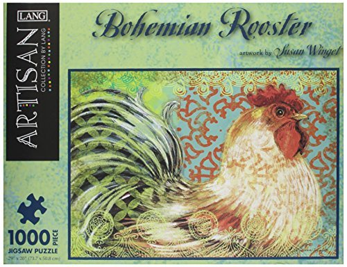 Lang Bohemian Rooster by Susan Winget Jigsaw Puzzle (1000-Piece) by LANG