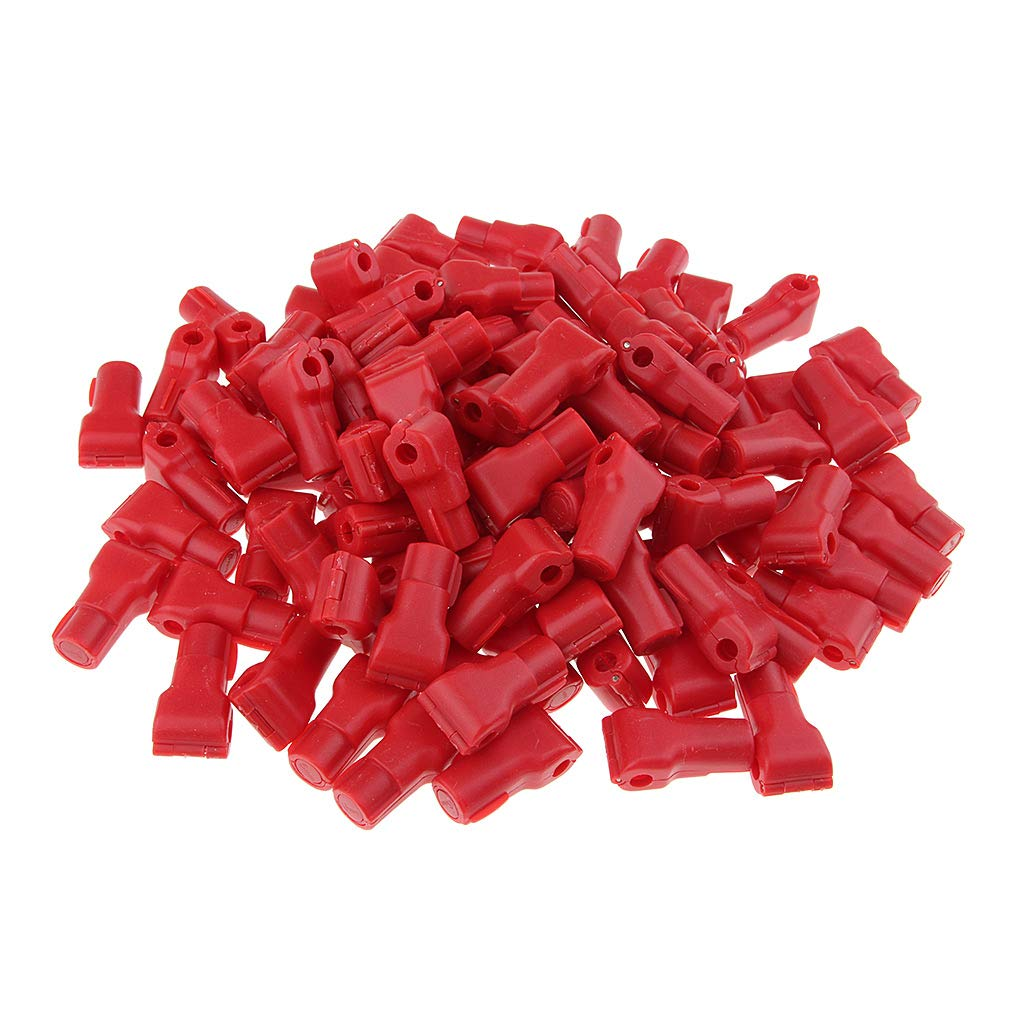 5mm kesoto 100pcs Red Retail Shop Security Display Hook Anti Sweep Theft Stop Lock 4mm//4.5mm//5mm//6mm//7mm//8mm