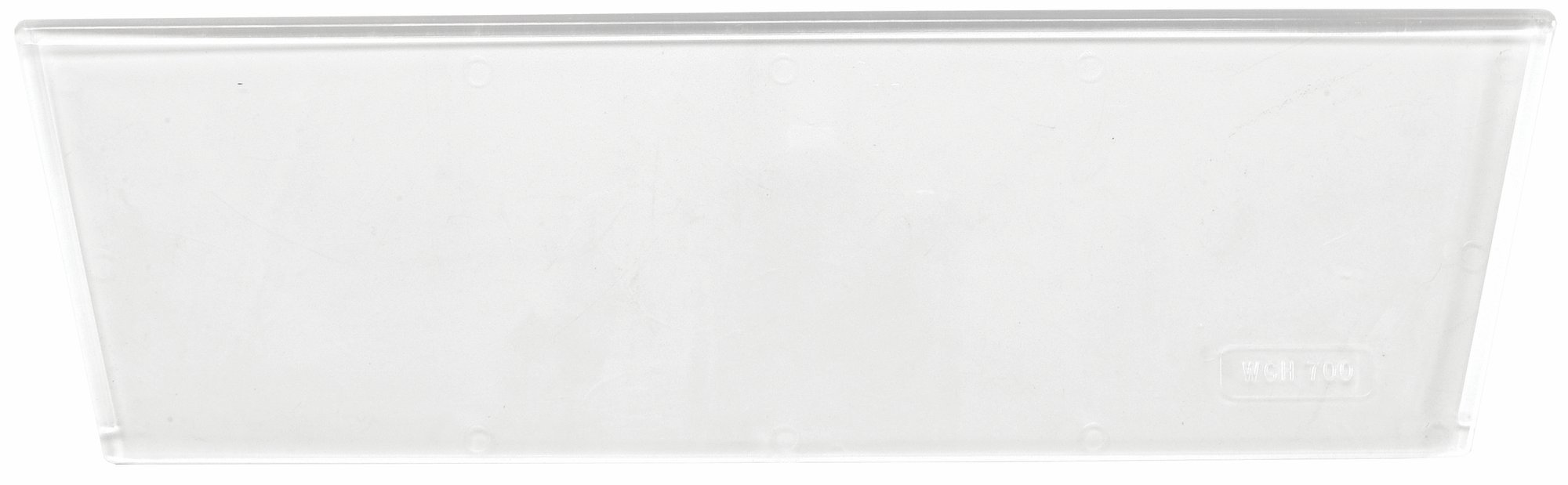 Quantum Storage Systems WGH700 Clear Window for Multi-Purpose Giant Stacking Open Hopper Containers, 3'' x 2'' (Pack of 3)