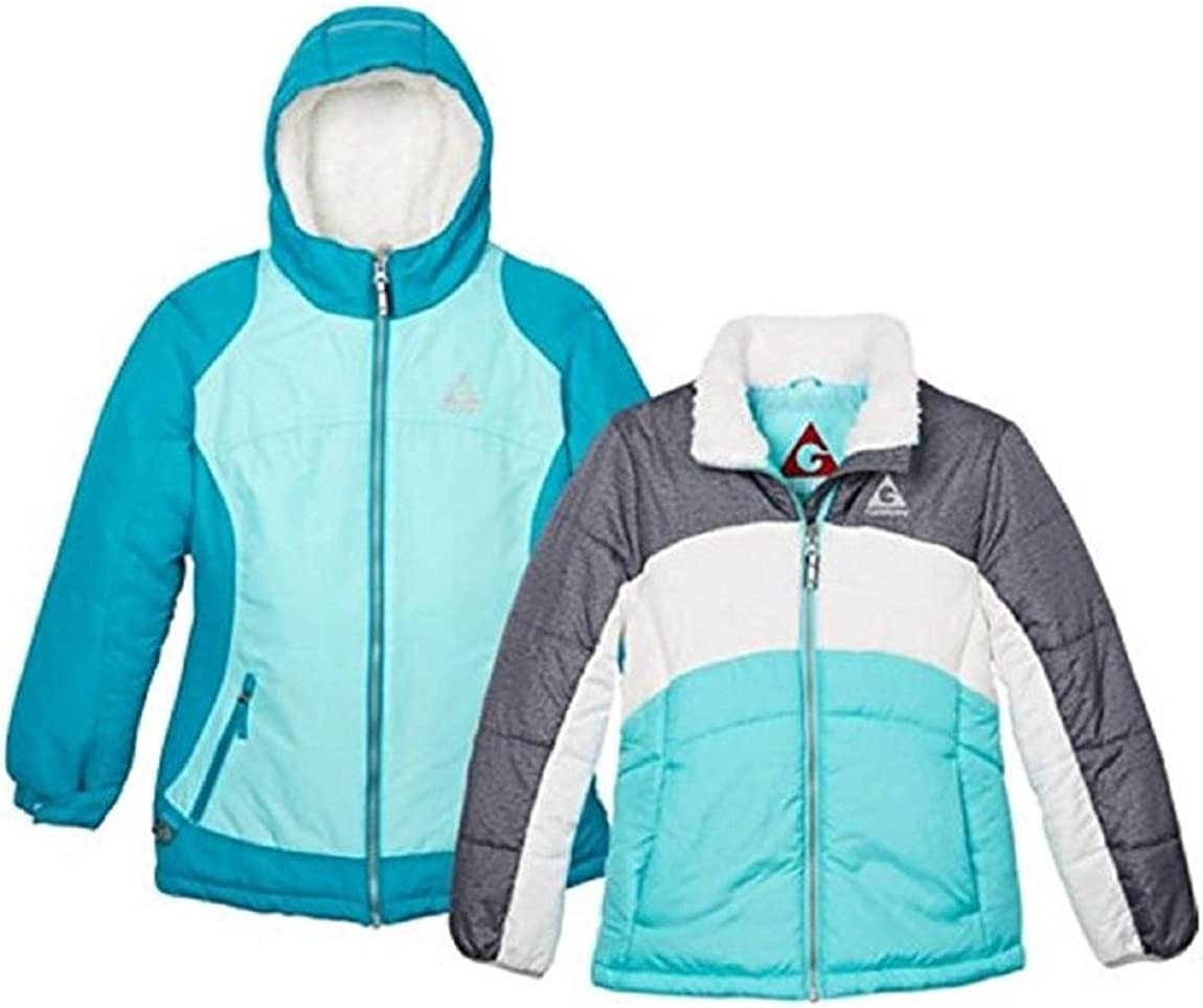 Gerry Girls 3 in 1 System Winter Jacket Hooded Coat with Beanie