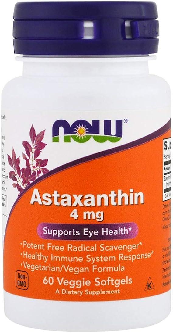 NOW Astaxanthin Supplements