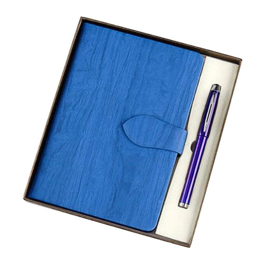 Gracioso Cuaderno de Oficina de Diario de Cuero de de de Poliuretano con Pluma de Firma [D] de Kangqi c45eac