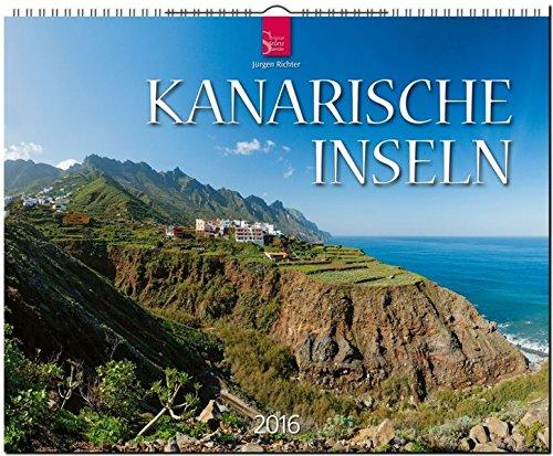 Kanarische Inseln 2016: Original Stürtz-Kalender - Großformat-Kalender 60 x 48 cm [Spiralbindung]