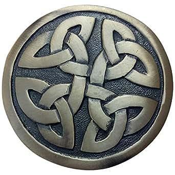 Amazon.com: Hebilla de cinturón para hombre, diseño celta ...