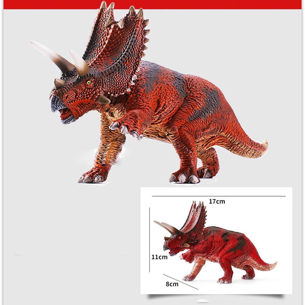 Kinder Kinder Kinder Dinosaurier Spielzeug Dinosaurier Kunststoff Modell Simulation Tier Spielzeug Spielzeug Figur Jurassic Pentagonal Drachen Spielzeug (Größe : 2) f34fab