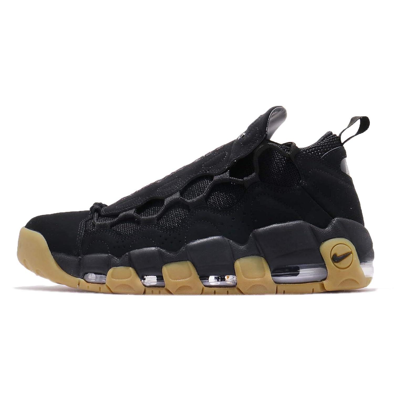 [ナイキ] エア モア マニー メンズ バスケットボール シューズ Air More Money AJ2998-004 [並行輸入品] B07JC1G3QW BLACK / BLACK-GUM LIGHT BROWN 27.0 cm
