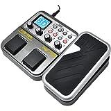 Nux MG-100 Multieffetto Pedale Processore Elettrico EFX Amp EQ Mixer per Chitarra e Basso Elettrica