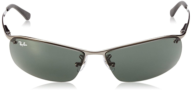 058f16f6de4 Ray-Ban RB3183 Top Bar Rectangular Sunglasses