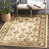 Safavieh Lyndhurst Collection LNH556-1212 Traditional Floral Trellis Ivory Area Rug (8'9″ x 12′) Review