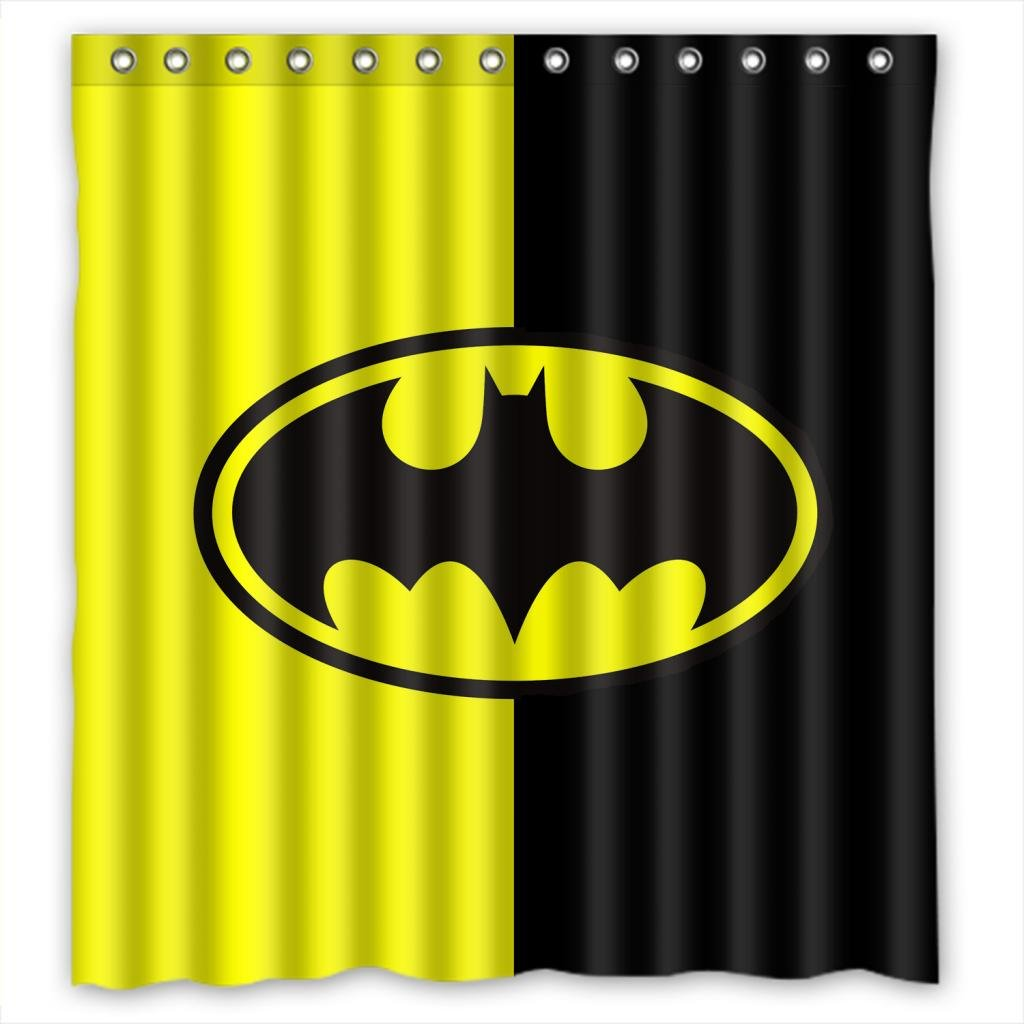 Batman shower curtain - Batman Protector Of The Realm Bathroom Polyester Shower Curtain 62 W X 72 H Amazon Ca Tools Home Improvement
