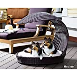 Refined Canine Outdoor Dog Chaise Lounger X-Large For Sale