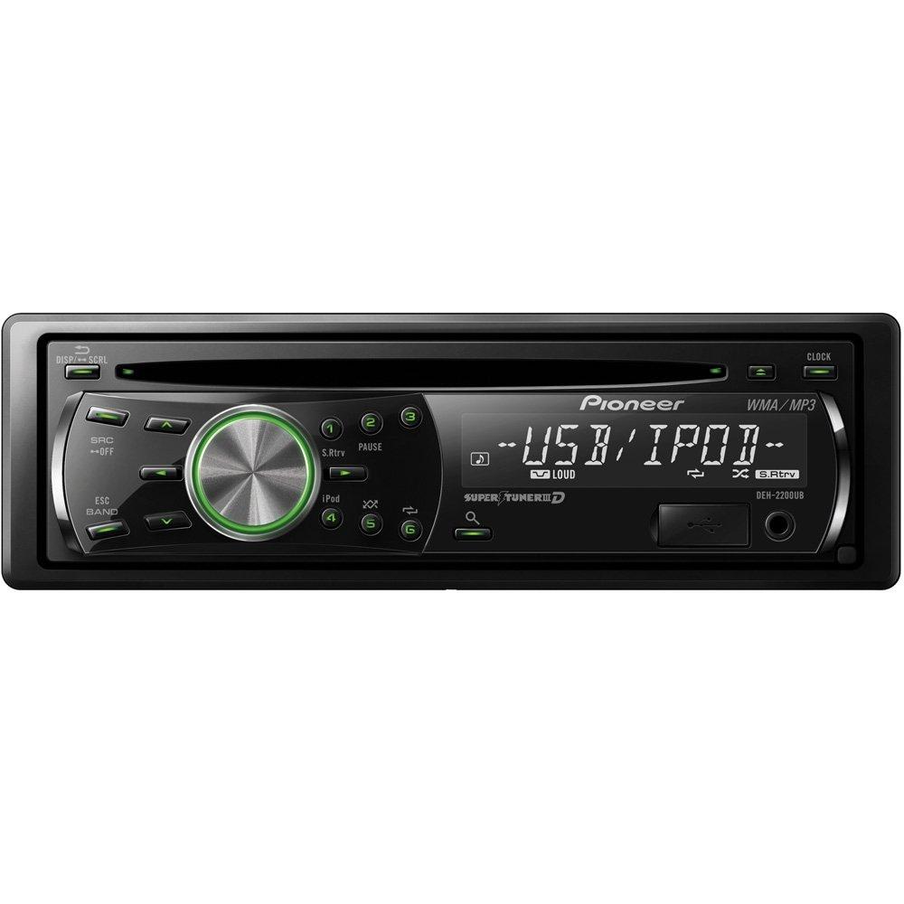 amazon com pioneer deh 2200ub cd receiver with ipod direct control rh amazon com