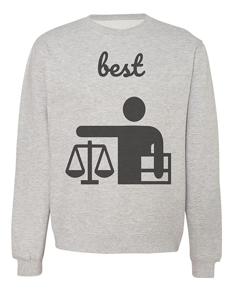 IDcommerce Best Judge Ever Scales and Lawsuit Mens Womens Unisex Sweatshirt