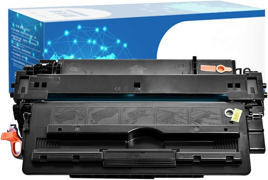 214A Toner Cartridge Compatible with HP CF214A Original Toner Cartridges, for HP Laserjet Enterprise 700 M712 M725Z Laser Printer, 12000 Pages, Black
