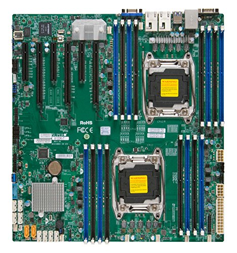 Supermicro EATX DDR4 LGA 2011 Motherboards X10DRI-T-O (Chipset Eatx Server)