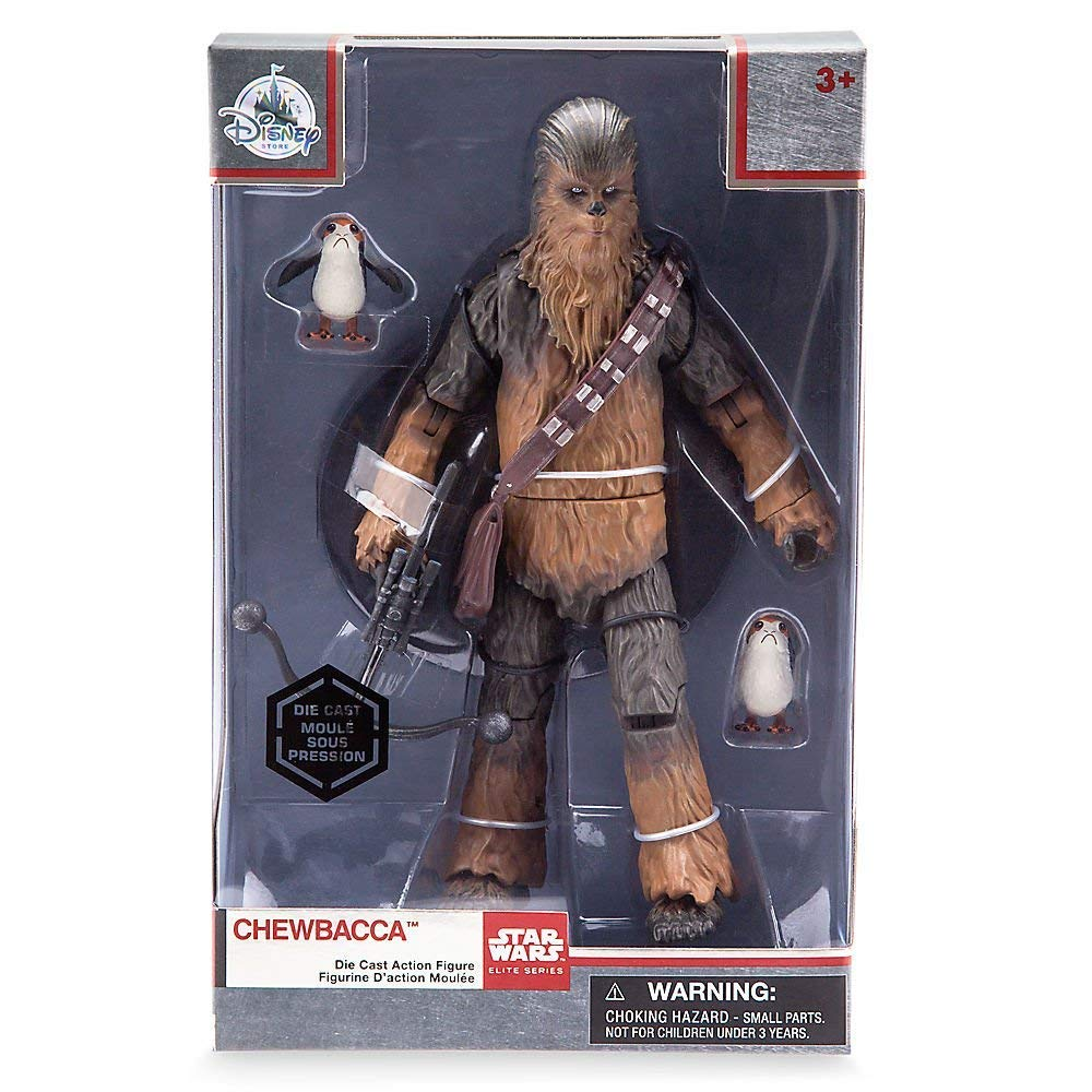 Star Wars Chewbacca Elite Series Die Cast Action Figure The Last Jedi