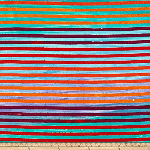 Robert Kaufman Kaufman Dot Dot Dot Stripe Rainbow Fabric By The Yard Rainbow Batiks