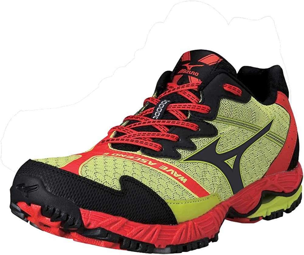 MIZUNO Wave Ascend 8 Zapatilla de Trail Running Caballero, Verde ...