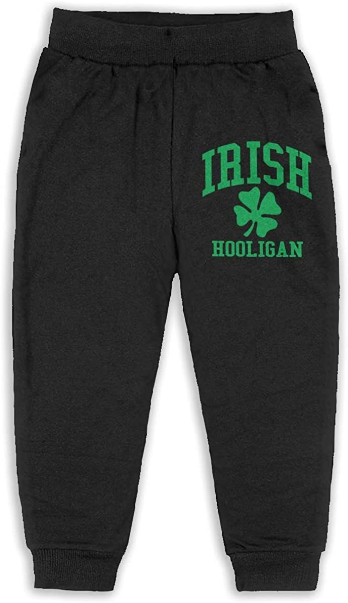 Udyi/&Jln-97 Irish Hooligan Unisex Kid Toddler Pants Soft Cozy Boys Girls Elastic Trousers