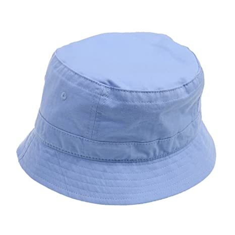 088bd935fc1 Buy Magicdeal Bucket Hat Boonie Basic Hunting Fishing Outdoor Cap 56-58cm  Light Blue Online at Low Prices in India - Amazon.in
