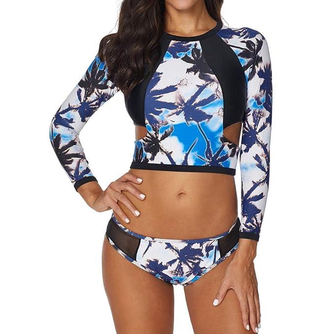 Luckycat Ropa de Bikini Conjunto Tops y Interior Una Pieza, Sexy Negro Mono Traje de Baño Ropa de Playa Sujetador Push-Up Acolchado y Volantes Web Tank ...