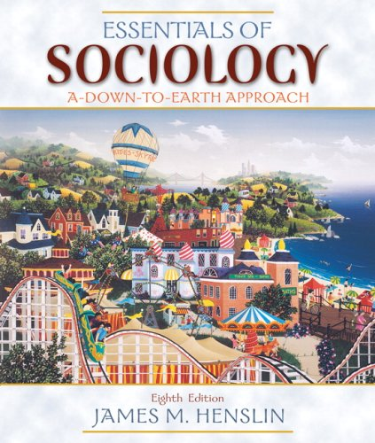 Essentials of Sociology: A Down-to-Earth Approach Value Package (includes Study Guide for Essentials of Sociology: A Dow