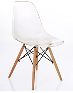 Mmilo® High Quality Contemporary Dining Chairs Retro Designer Style Eiffel  Inspired Side Lounge Living Room