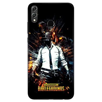 sports shoes 6b439 508b6 DASM United Honor 8X Printed Designer Back Case Cover   PUBG Dark   Game  Cover for Honor 8X