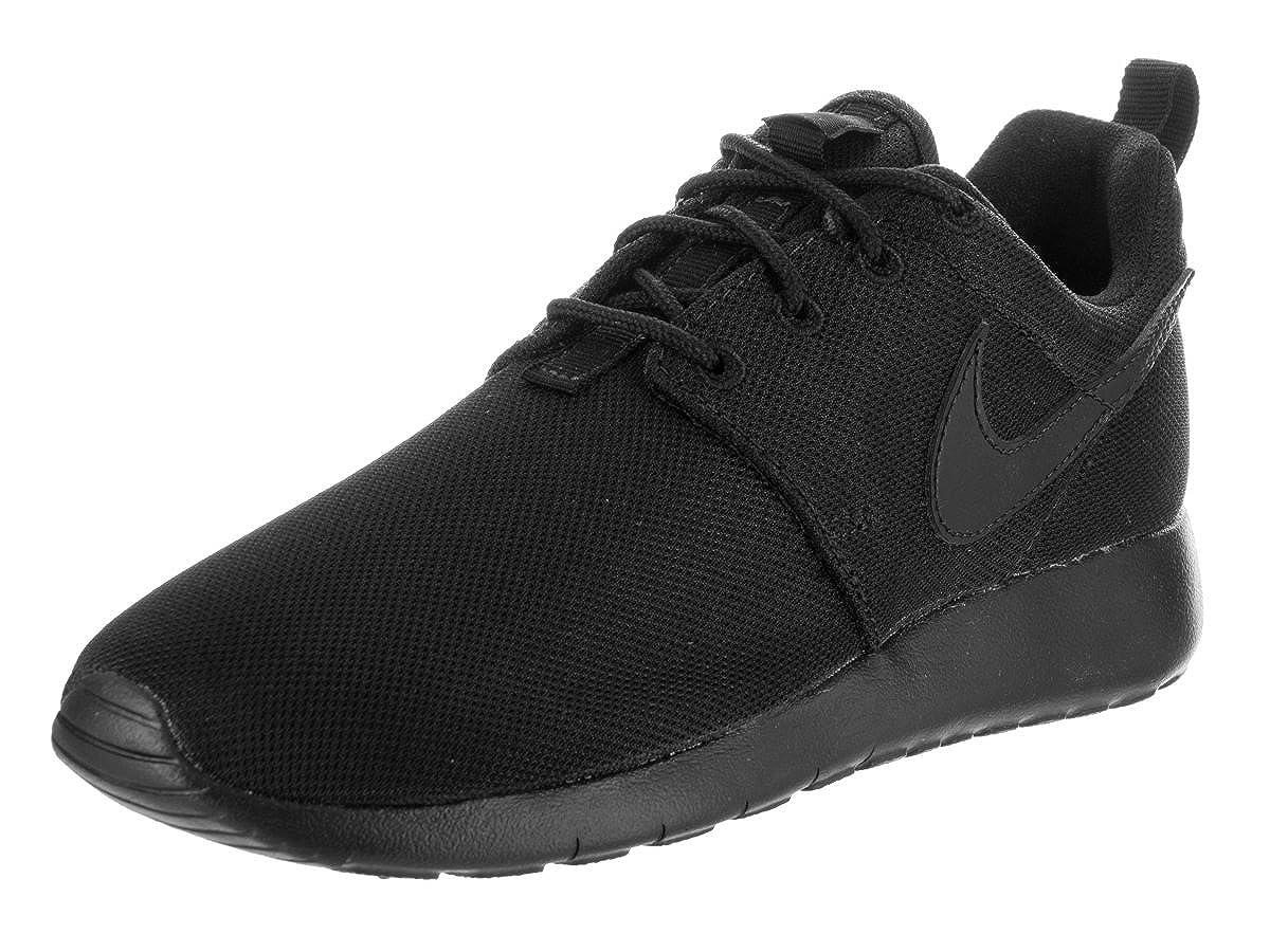 design intemporel dbeb7 bceb8 NIKE Roshe One Big Kids (GS) Shoes Black/Black-Noir 599728-031 (5 M US)
